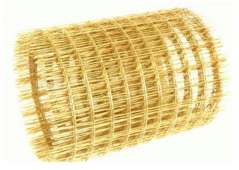 Стеклопластиковая сетка в рулоне