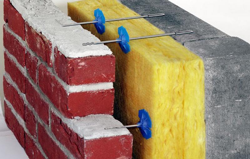Композитные гибкие связи для многослойных стен