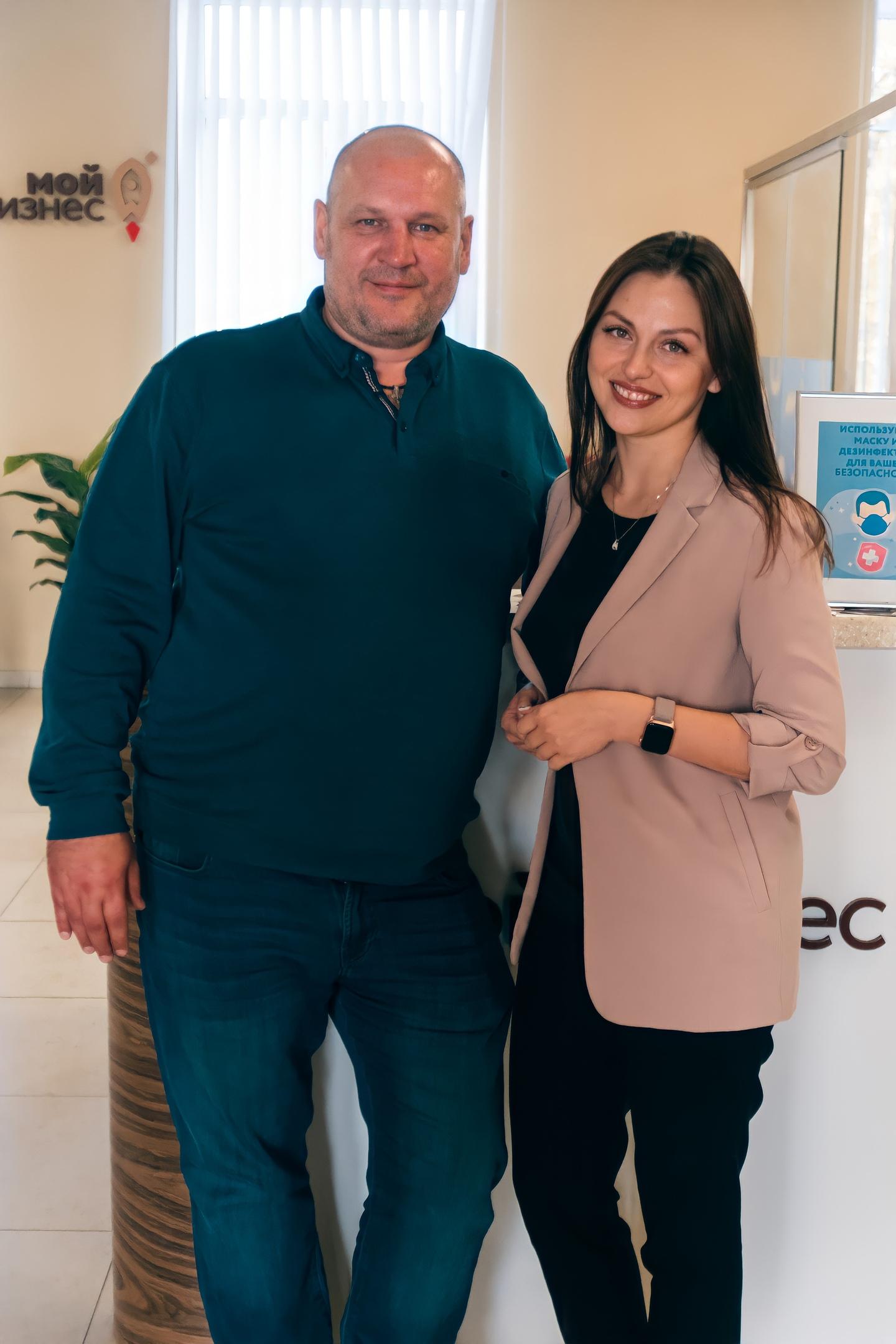 Генеральный директор Матвеев Е.А. провел рабочую встречу с директором Центра поддержки экспорта Афанасовой В.С.