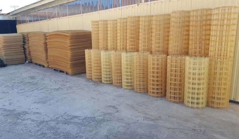 Стеклопластиковая сетка для бетонирование, в листах и рулонах