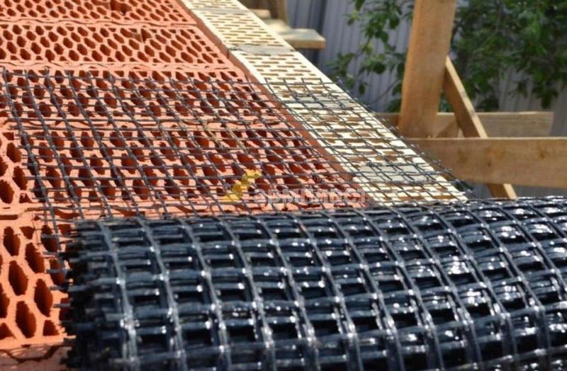 Базальтовая сетка в рулонах заданной ширины