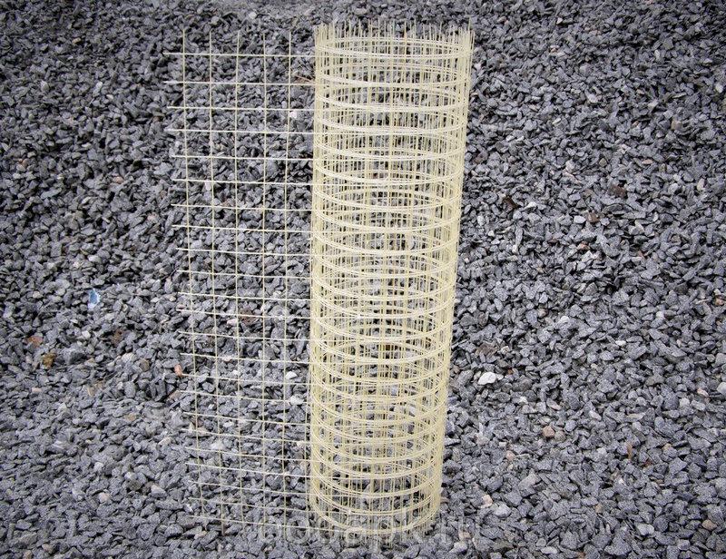 Сетка кладочная композитная стеклопластиковая