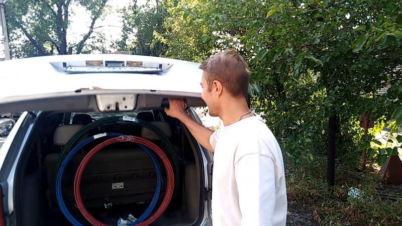 Композитную арматуру СтеклоПласт можно перевозить в багажнике, на крыше и в прицепе!