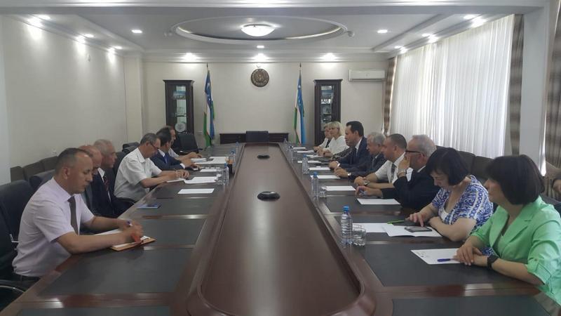 Деловые переговоры бизнес-делегации Волгоградской области в Узбекистане