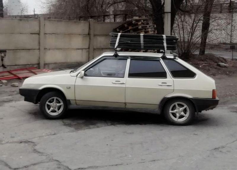 Как перевозить арматуру на крыше легкового авто