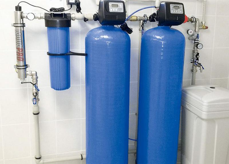 Установка для очистки питьевой воды на заводе СтеклоПласт