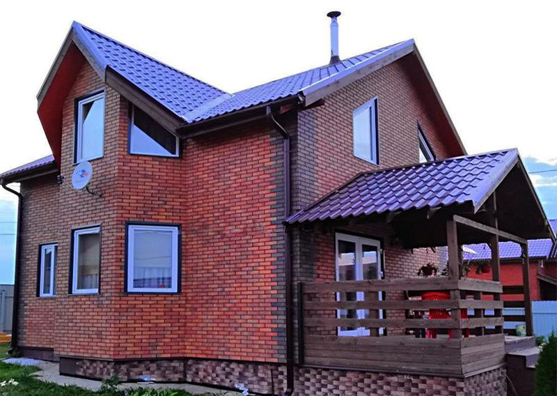 Использование фасадных панелей для отделки снаружи дома, дачи, коттеджа. Купить теплые фасадные панели у компании СтеклоПласт