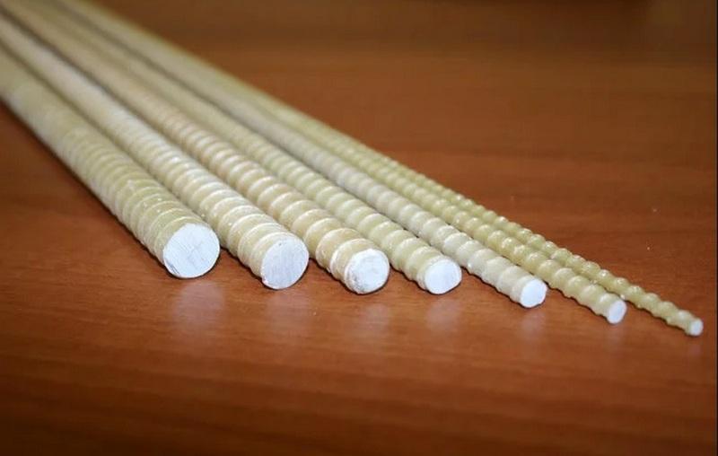 Стеклопластиковая арматура разного диаметра сечения