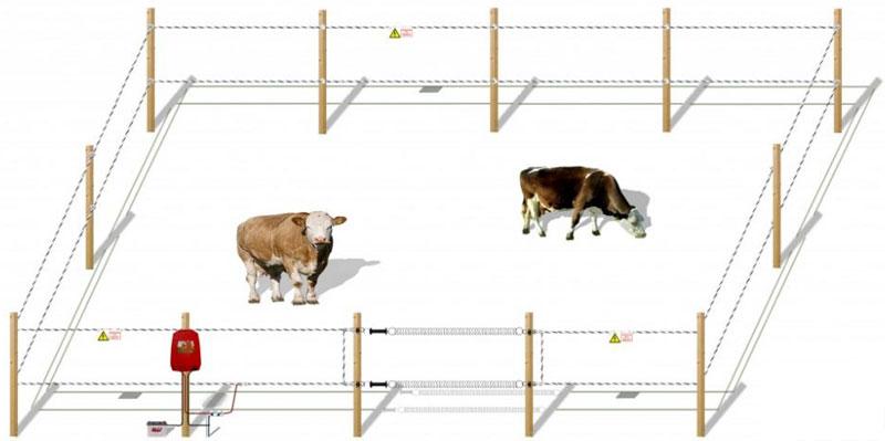 Электропастух для коз своими руками