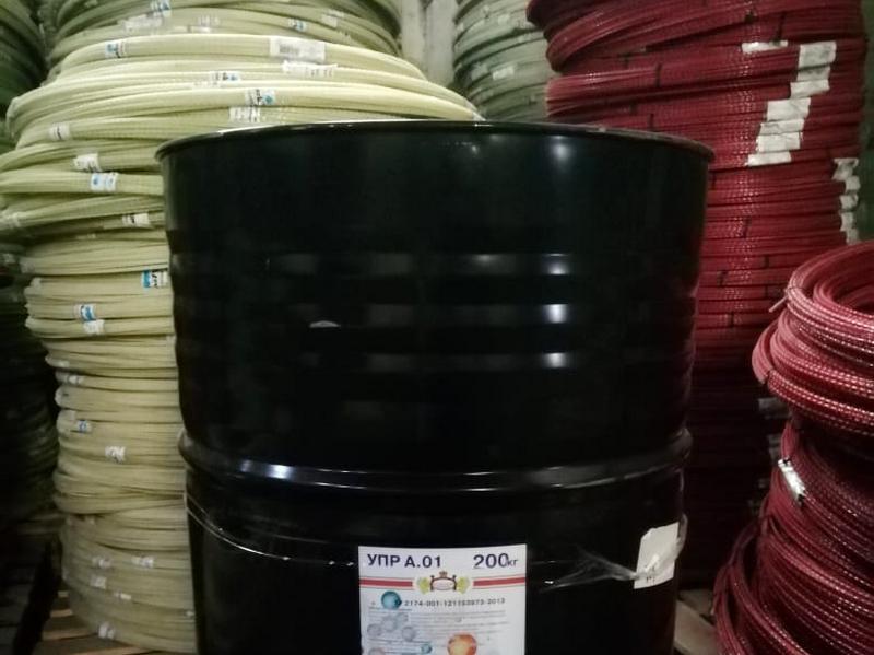 Ускоритель смолы УПР в бочках, для изготовления стеклопластиковой арматуры