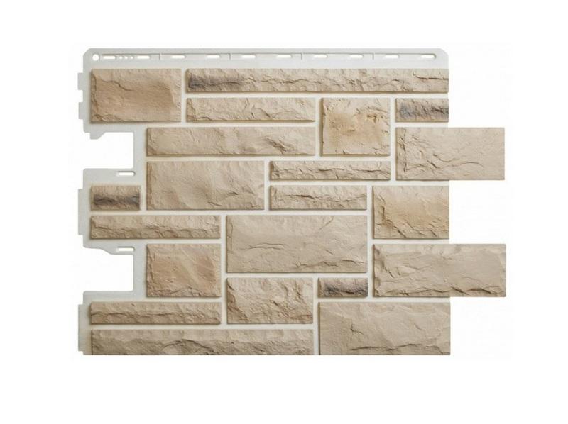 Фасадные панели каменной текстуры