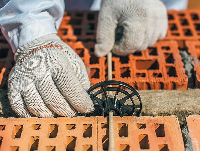 Стеклопластиковые прутки для скрепления многослойных стен