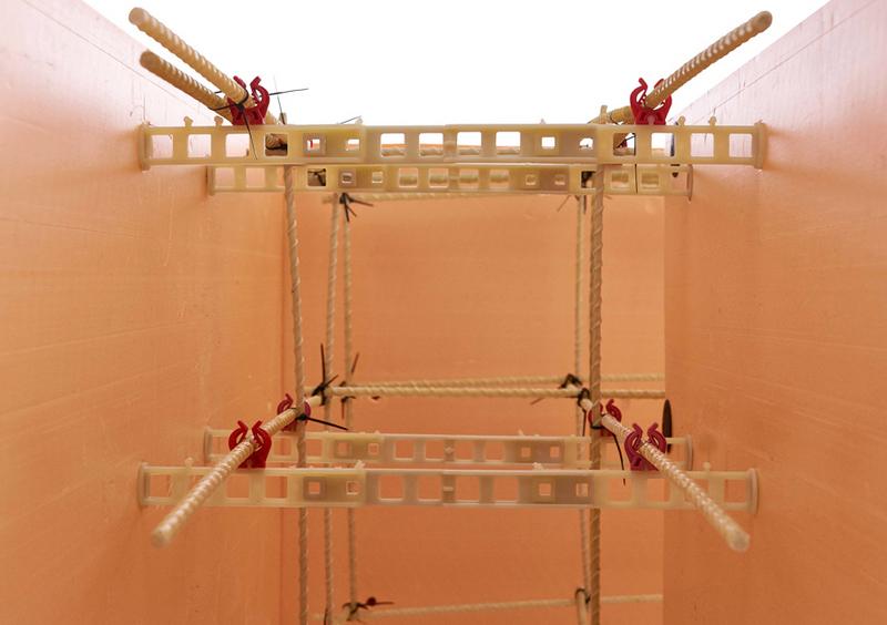 Стеклопластиковая арматура применяется для строительства монолитных стен