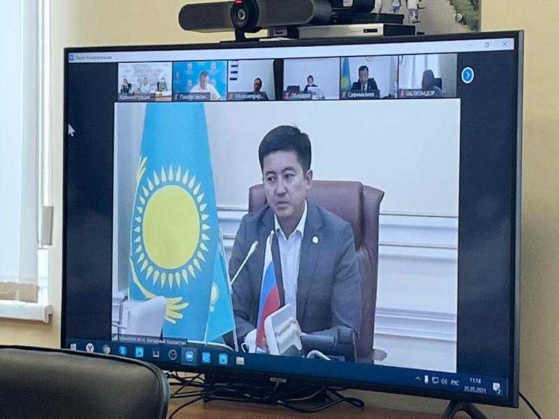 В Волгограде прошло первое заседание рабочей группы по вопросам развития международных отношений Волгоградской области с Западно-Казахстанской областью Республики Казахста